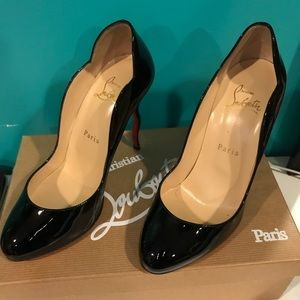 Christian Louboutin black pumps size 37